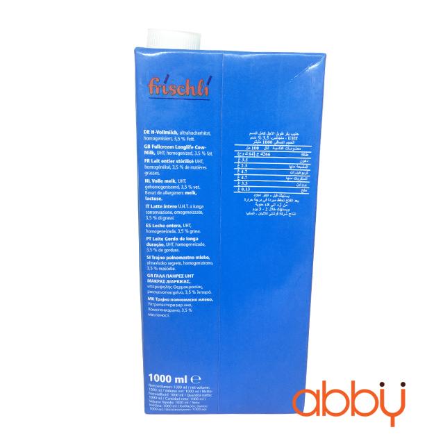 Sữa tươi nguyên kem 3,5% Frischli 1L