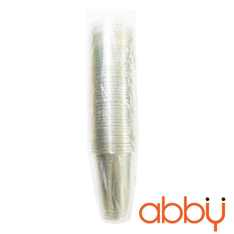 Cốc nhựa PET 350ml (dây 50 cốc không nắp)