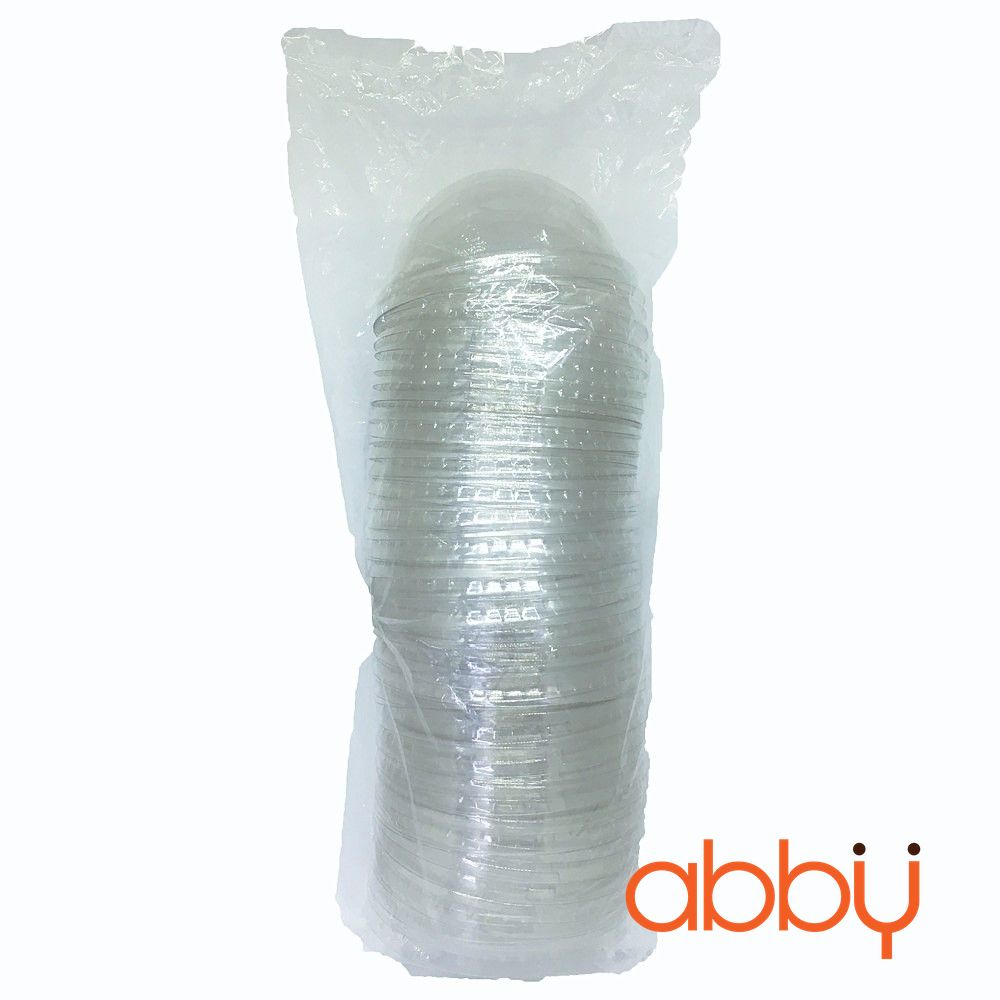 Nắp cầu cốc nhựa PET (dây 50 nắp)