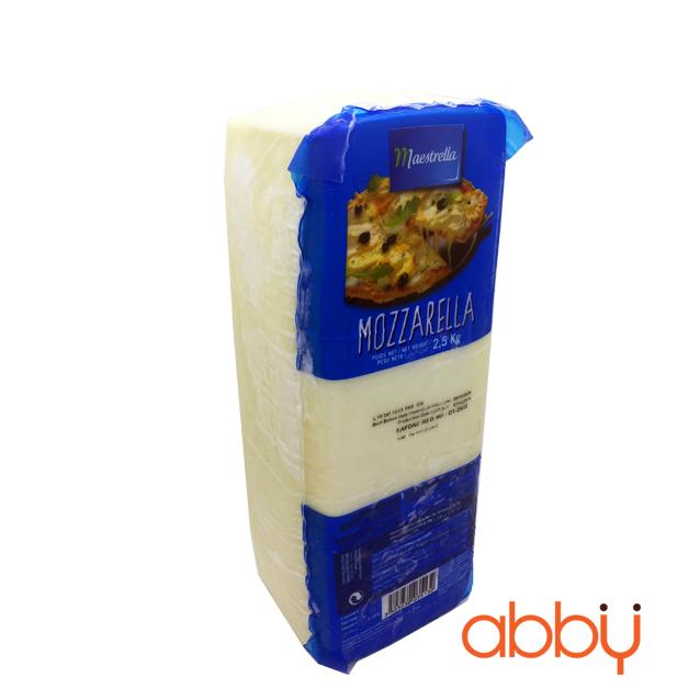Phô mai mozzarella Maestrella 2.5kg