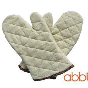 Găng tay chống nhiệt 30cm vải thô