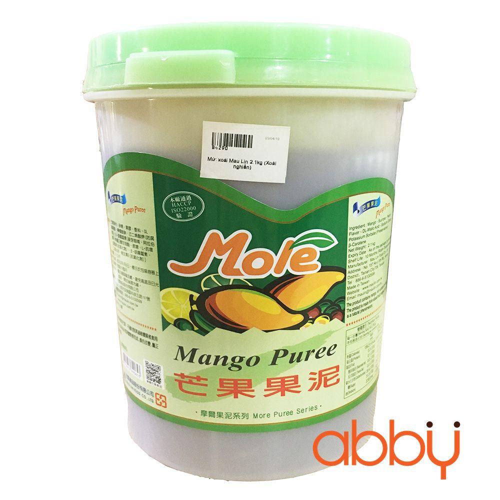 Mứt xoài Mau Lin 2.1kg (Xoài nghiền)