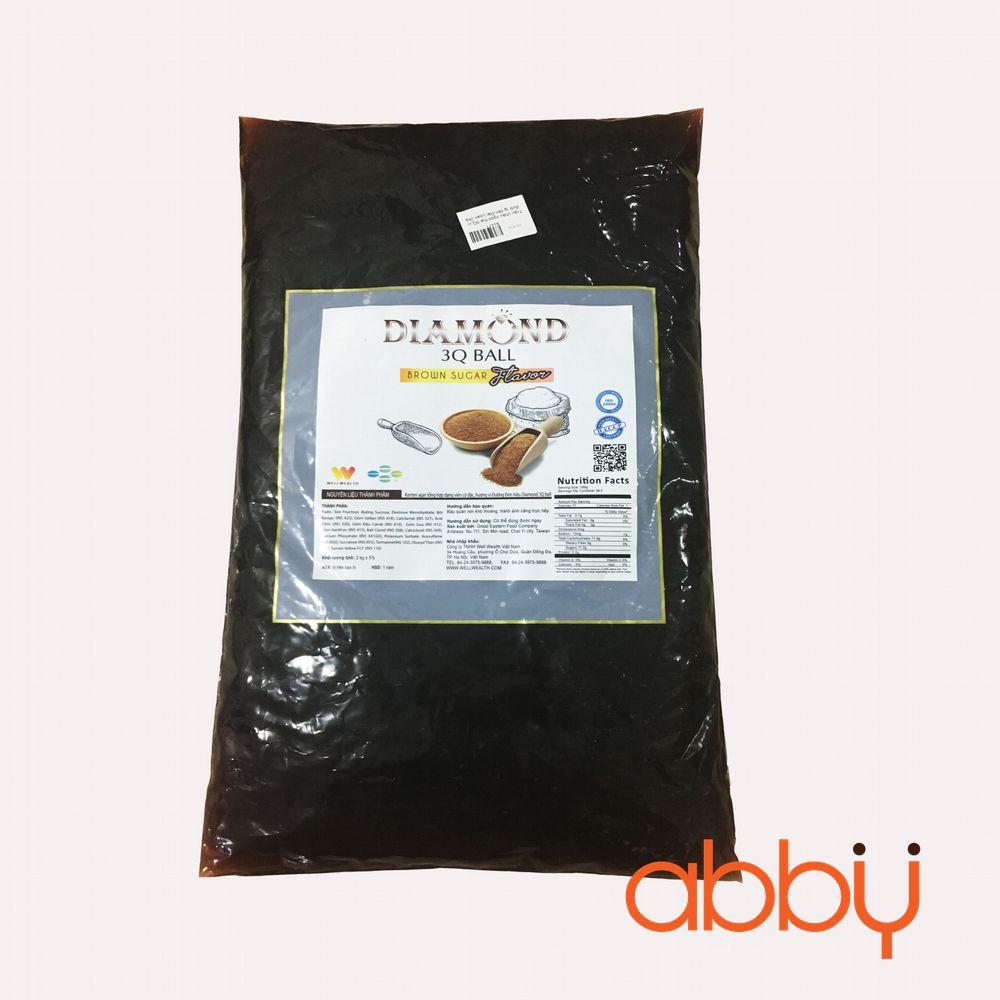 Trân châu ngọc trai 3Q vị đường đen Đài Loan 2kg