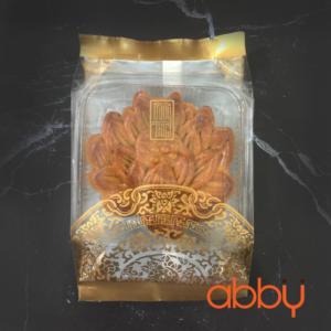 Túi đựng bánh trung thu 125-150g họa tiết nhũ vàng (10 túi)