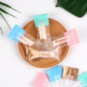 Túi đựng kẹo Nougat Crisp 10x5cm (10 chiếc)