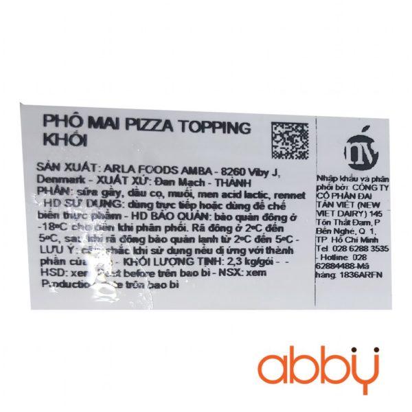 Phô mai mozzarella Arla 2.3kg