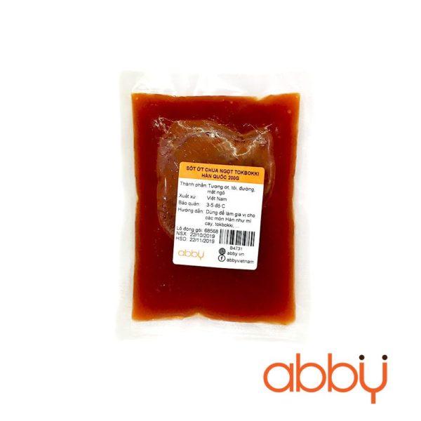 Sốt ớt chua ngọt tokbokki Hàn Quốc 200g