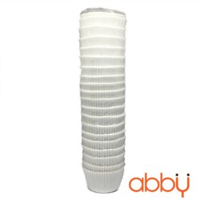 Cup giấy mềm trắng 12cm (khoảng 450 chiếc)