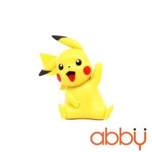 Tượng trang trí bánh Pikachu 7x3cm