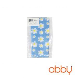 Túi đựng kẹo nougat hoa cúc 9.5x4cm (10 chiếc)