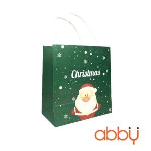 Túi đựng quà 25x20cm Ông già Noel