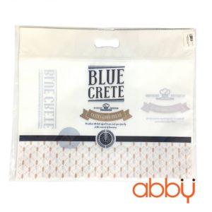 Túi zip đựng bánh mì 37x32x5cm Blue crete (5 chiếc)