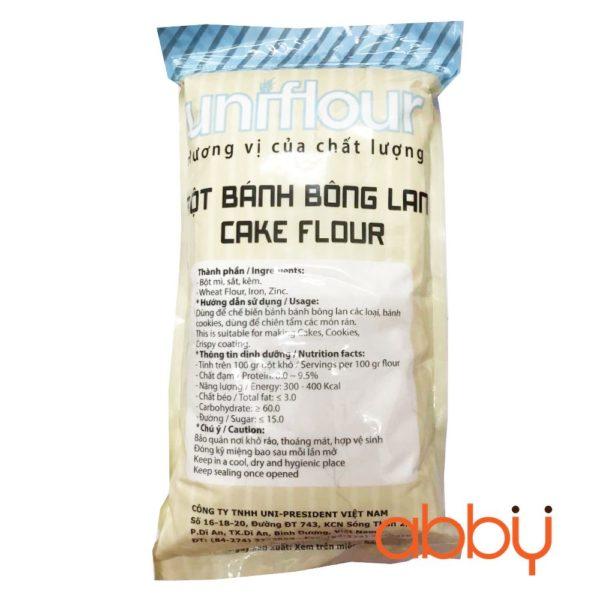 Bột bánh bông lan cake flour Uniflour 2kg