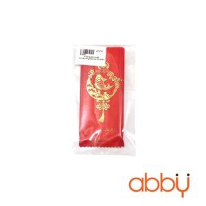 Túi đựng kẹo nougat cá chép vàng 9.5x4cm (50 chiếc)