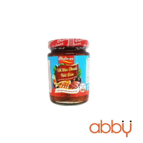 Gia vị lẩu chua hải sản Cholimex 200g