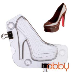 Khuôn nhựa socola 3D giày cao gót
