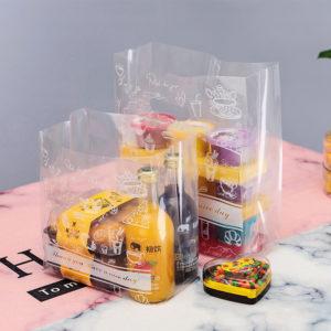 Túi đựng bánh quy có quai xách 30x20x8cm (5 chiếc)