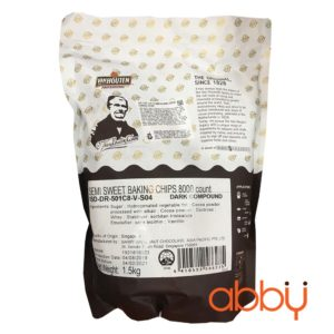 Chocochip đen hạt to Malaysia 1.5kg