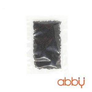 Kẹo trang trí hạt dài đen 20g