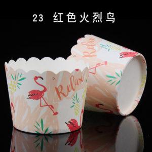 Cup giấy cứng 6x5cm mẫu hạc (48 - 50 chiếc)