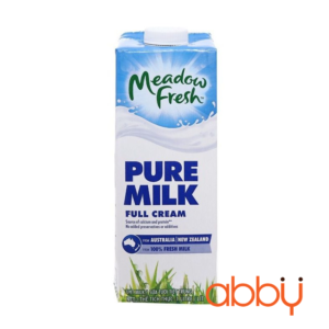 Sữa tươi tiệt trùng nguyên kem Meadow Fresh 1L