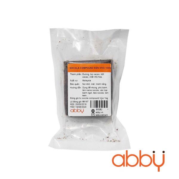 Socola compound đen Vivo 100g