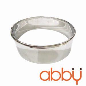 Khuôn ring mousse inox tròn 16cm