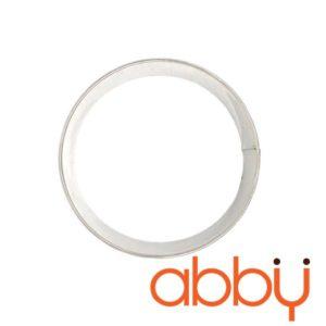 Khuôn ring mousse inox tròn 18cm