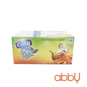 Trà đào hòa tan Cozy Icetea 15g x 18 gói (1 hộp)