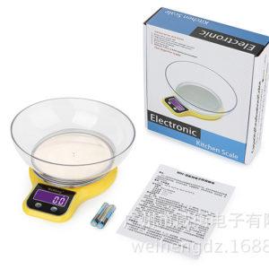 Cân điện tử mặt inox WH-B21 (5kg - 1g)