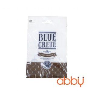 Túi zip in hình 23x15cm Blue Crete (5 chiếc)
