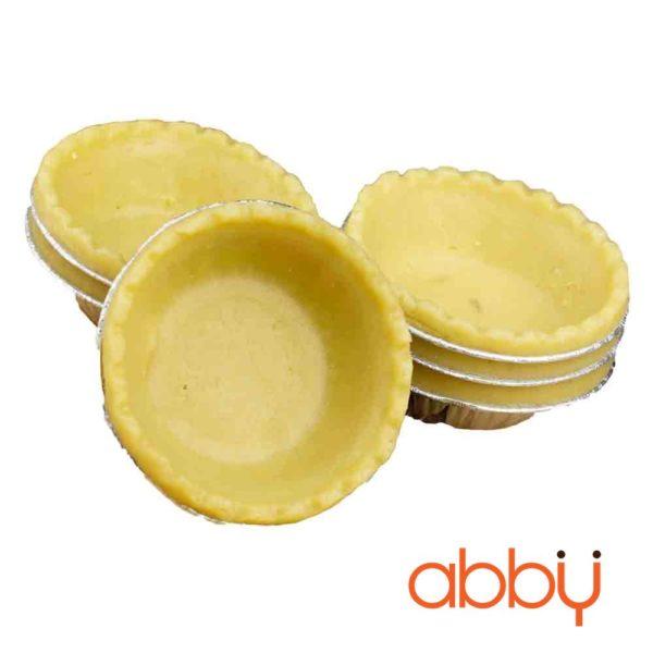 Đế bánh tart trứng handmade Abby khuôn giấy bạc (12 đế)