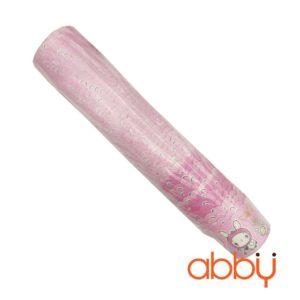 Cup giấy cứng 6x5cm mẫu viền hồng (48 - 50 chiếc)