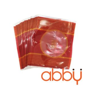 Túi đựng bánh trung thu 125-150g họa tiết cổ đỏ (100 túi)
