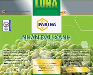 Nhân Farina đậu xanh 1kg