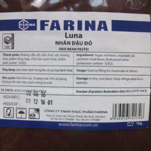 Nhân Farina đậu đỏ 1kg
