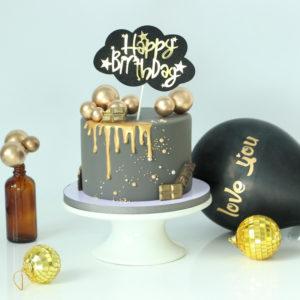Bóng xốp trang trí bánh sinh nhật (5 chiếc)