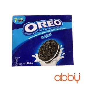 Bánh quy vanilla Oreo hộp 199.5g