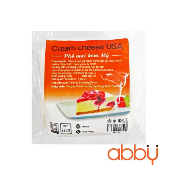 Cream cheese USA 220g