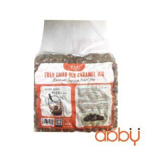 Trân châu đen caramel Abby 1kg