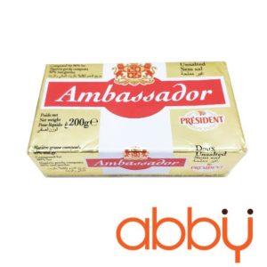Bơ nhạt thực vật Ambassador President 200g