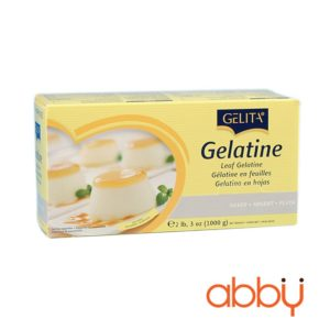 Lá gelatin Gelita SILVER hộp 1kg (1 lá 2.5g)