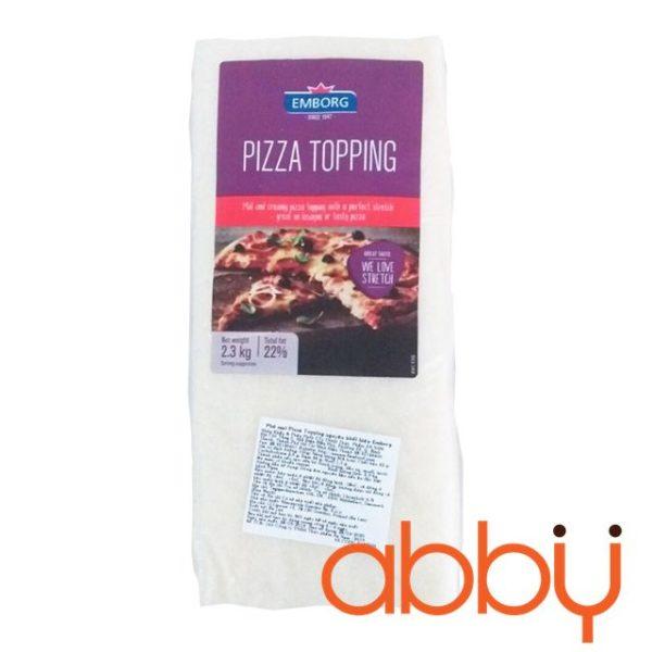Phô mai mozzarella Emborg 2.3kg