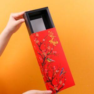 Hộp giấy Hoa xuân