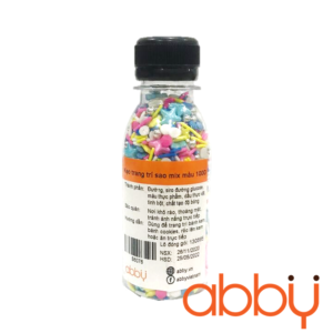 Kẹo trang trí sao mix màu 100g