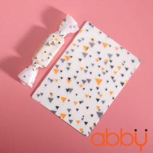 Giấy gói kẹo hình tam giác nhiều màu 13x9cm (100 tờ)
