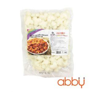 Bánh gạo Hàn Quốc hình hoa, tim, sao 500g