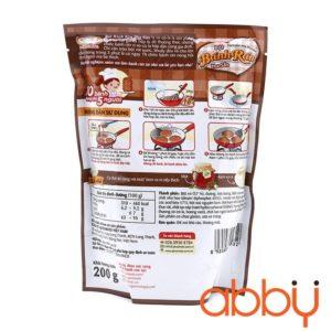 Bột bánh rán vị socola Ajinomoto 200g