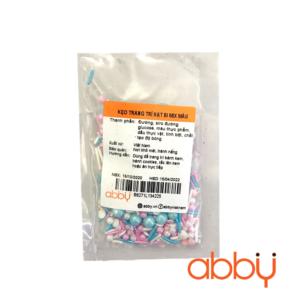 Kẹo trang trí hạt bi mix màu 20g
