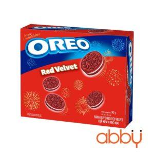 Bánh quy Oreo Red Velvet nhân phomai 342g